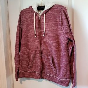 Sonoma Zip Up Hoodie Size Medium